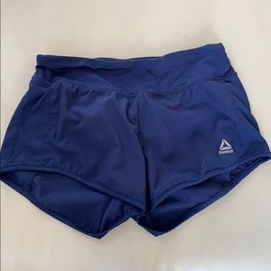 3x$20 Reebok gym running shorts xs navy blue